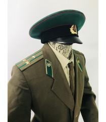 Soviet Russian Cold war uniform for hire - KGB Colonel Border Security