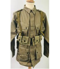 WW2 US equipment prop hire - Infantry Webbing Set