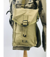 WW2 US equipment prop hire - Thompson Magazine Bag