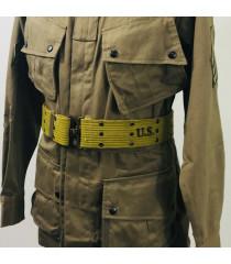 WW2 US equipment prop hire - M1936 WAIST BELT