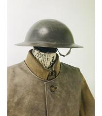 WW1 British Army equipment prop hire - brodie helmet