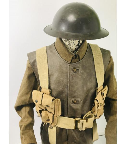 WW1 British Army equipment prop hire - P08 WEBBING