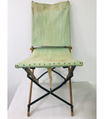 MILITARY PROP HIRE - WW1 WW2 British officers folding campaign chair