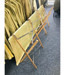 MILITARY PROP HIRE - WW1 WW2 British officers folding campaign BED