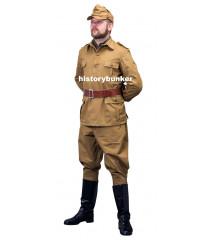 WW2 Italian army Sahariani Tropical M40 Bustina, Tunic and breeches