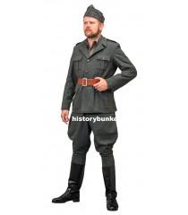 WW2 Italian army grigio verde M40 tunic, m40 trousers and bustina
