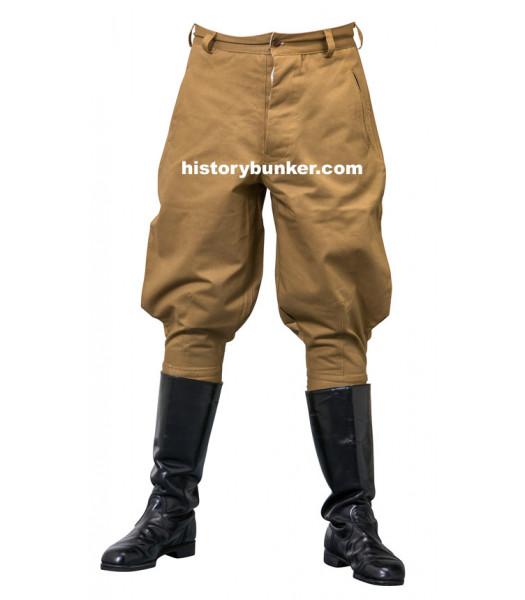 WW2 Italian army Sahariani Tropical M40 trousers