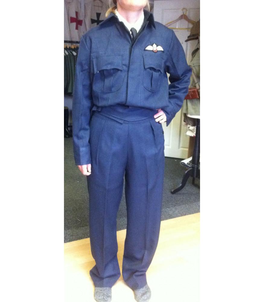 WW2 Ladies WAAF Battle Dress Or Work Wear Blouse on Latest Copy On Write