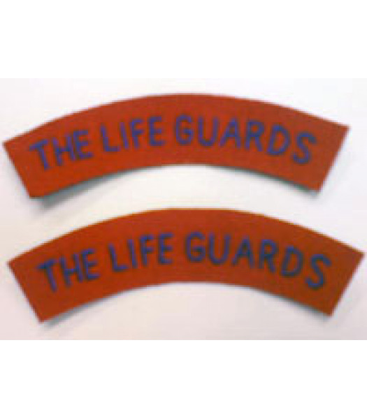 Life Guards shoulder title