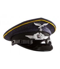 Luftwaffe NCO - WW2 German officers cap