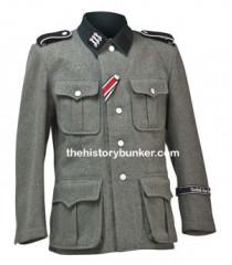 German M36 Feldbluse Field Tunic - No Insignia