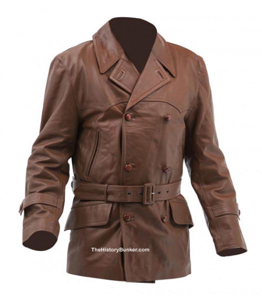 British 1920's Motor Racing Leather Jacket