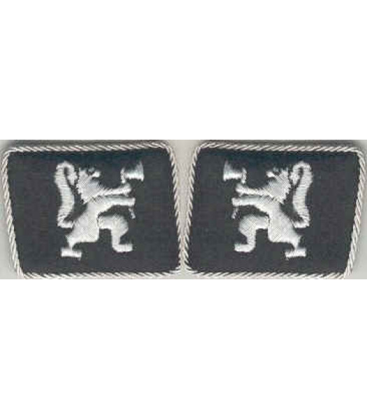 SS Legion Norwegen (Norway) Foreign Volunteers Collar tabs