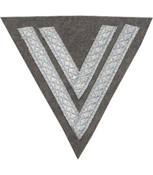 Heer EM NCO Rank Chevron - 2 Stripes - ObergefreIter