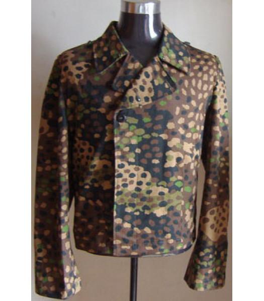 German Waffen SS Panzer Wrap Pea Dot Camouflage
