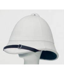 Victorian British Army Pith Helmet - Zulu War - WITH 24TH FOOT HELMET PLATE