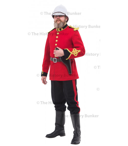 1879 British Victorian Royal Engineers uniform - Lt John  Chard