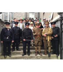 Royal Irish Constabulary Police Visor cap
