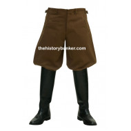 WW2 German Officer tricot breeches - SA trousers - brown