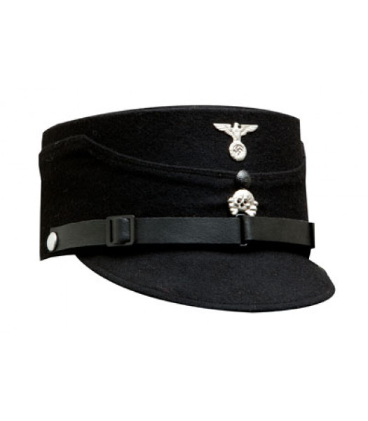 SS kepi black - WW2 German CAP