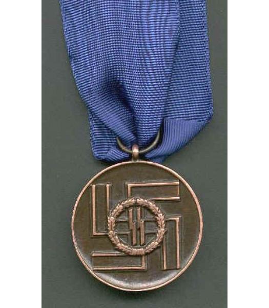 WW2 German SS Service Medal 8 years