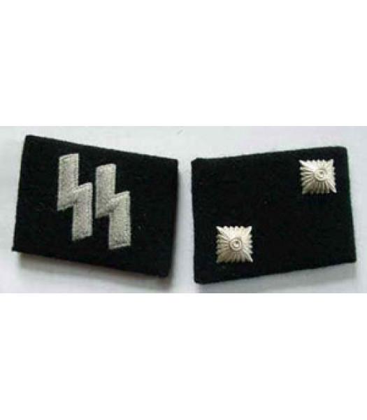 SS Oberscharfuhrer (Technical Sargeant) Collar Tabs