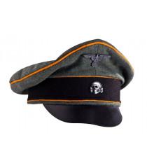 SS Feldgendarmerie visor cap - WW2 German officers cap