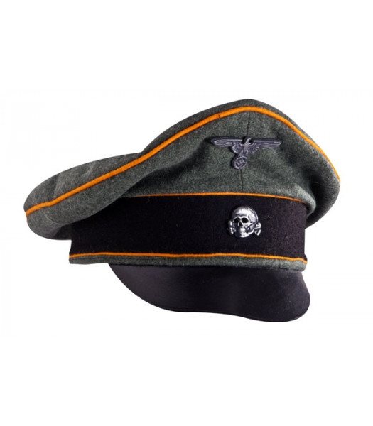 SS Feldgendarmerie visor cap - WW2 German officers cap