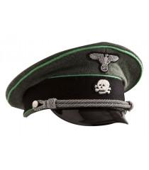 SS Gebirgsjager visor cap - WW2 German officers cap