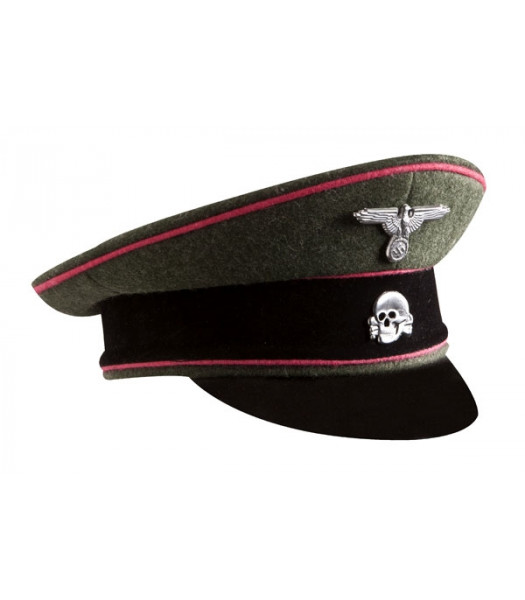 SS Panzer visor cap - WW2 German officers cap