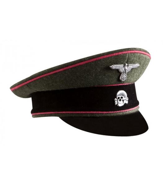SS Panzer visor cap - WW2 German officers cap