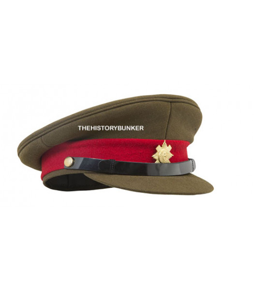 WW1 and WW2 British Army staff officers cap
