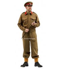 WW2 British Staff Officer Battle Dress Uniform Package