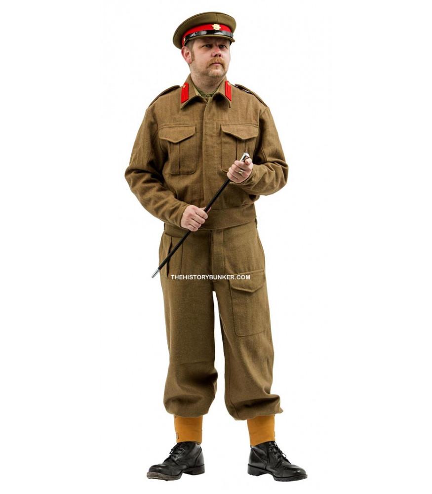 WW2 British Staff Officer Battle Dress Uniform Package FOR HIRE
