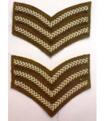 Sergeant Stripes - 1 pair