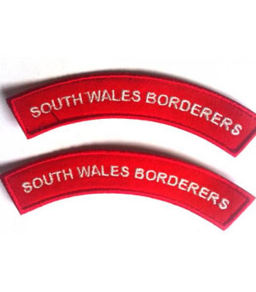 South Wales Borders shoulder titles