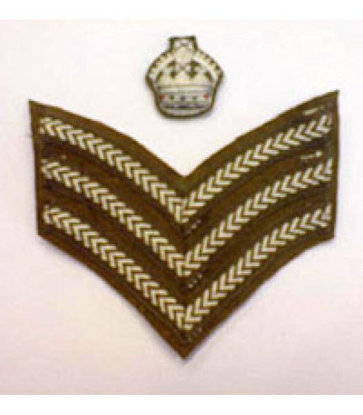 Staff Sergeant stripes 1 PAIR