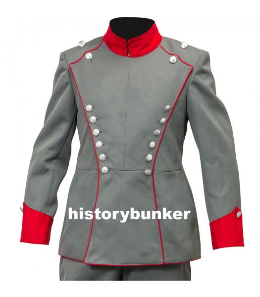 WW1 German Uhlan tunic - red collar - Royal Saxon Regument