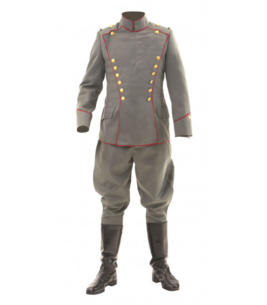 WW1 Imperial German fighter pilot Uhlan Ulanka tunic and breeches - gold imperial buttons