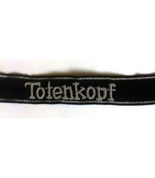 Totenkopf script cuff title