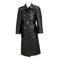 German Officers Horsehide Great Coat - WW2 German Leather Coat