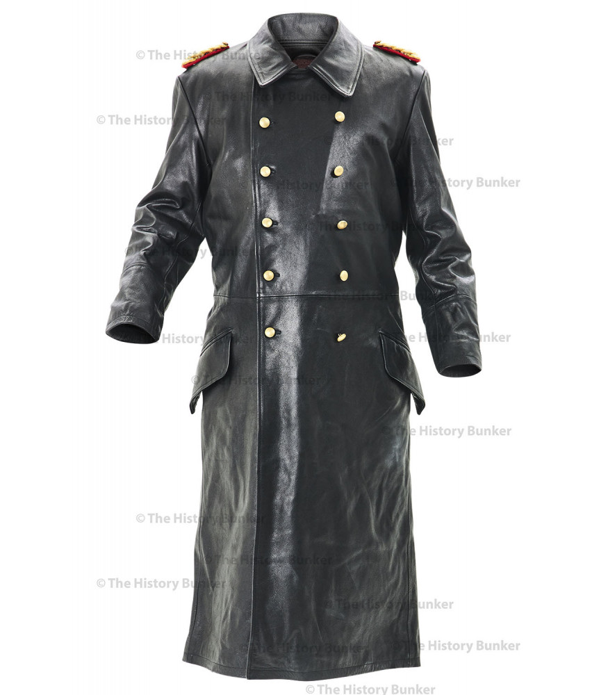 cd1116546 German SENIOR Officers Horsehide Great Coat - WW2 German Leather Coat