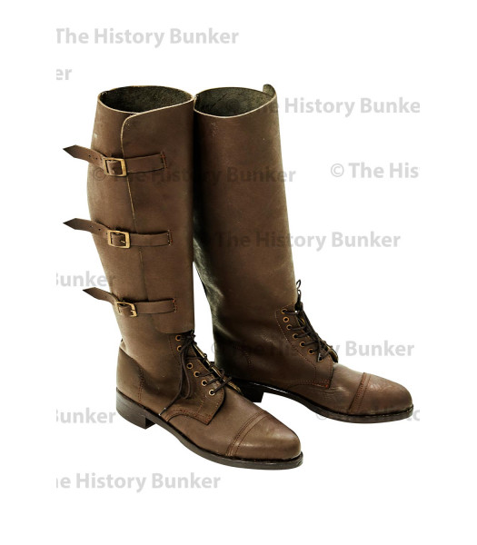 WW1 British Army officer boots