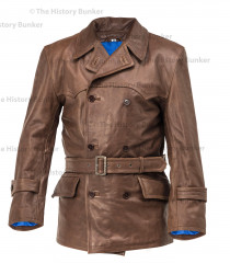 WW1 Imperial German Fighter Pilots leather jacket - brown