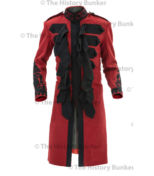 1915 British Army officer undress Frock coat - RED