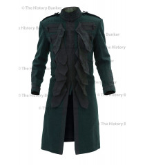 1915 British Army officer undress Frock coat - dark green