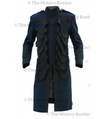 1915 British Army officer undress Frock coat - dark BLUE