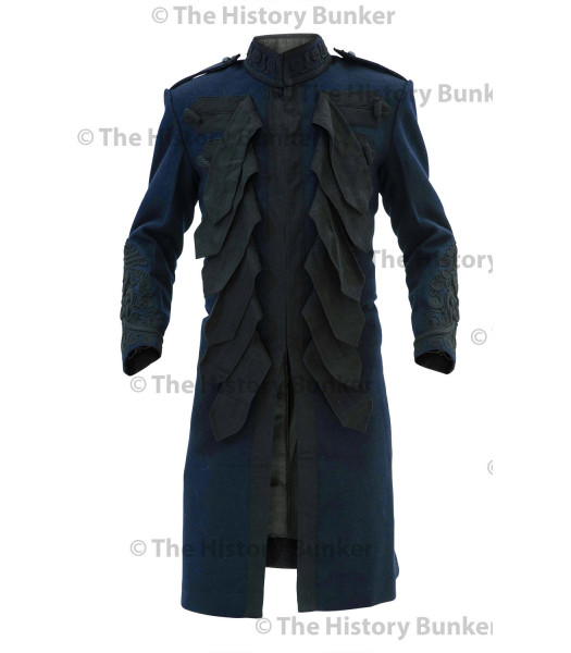 1915 British Army officer undress Frock coat - dark BLUE