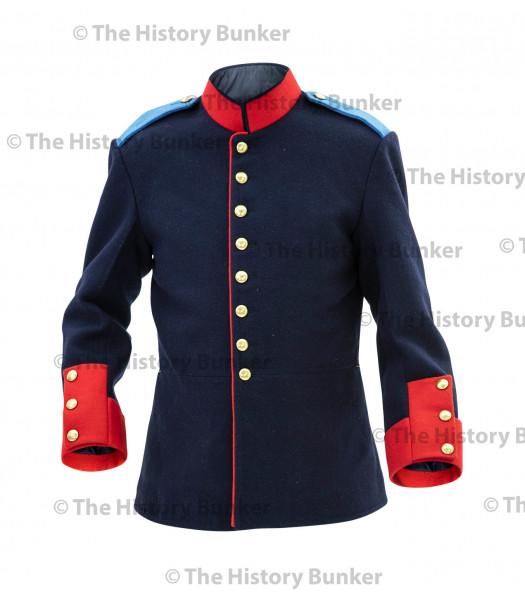 1900 circa German Dunkleblau infantry tunic