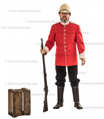 Victorian 17th infantry of foot tunic